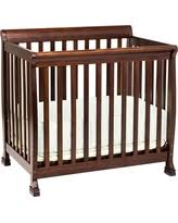 holiday savings on davinci kalani 2 in 1 convertible mini crib ebony