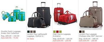 macys one day sale luggage at discounts ends 7 14
