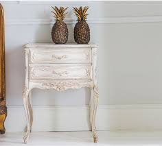 Shabby Chic Side Table Home Design Charming Shabby Chic Bedside Table Tables 3005150