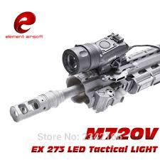 tac light flash light ex 273 element m720v tactical light led weapon light tactical