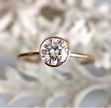 engagement rings simple bezel set solitaire engagement ring solitaire rings