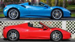 ferrari 458 vs 488 ferrari 458 vs 488 u2013 car image idea
