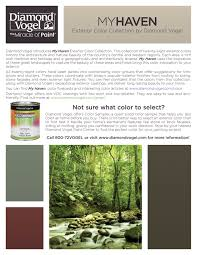my haven exterior color collection chart color center diamond