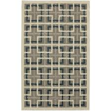 mohawk home area rugs mohawk home squares cream 8 ft x 10 ft area rug 546823 the