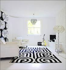 Black And White Modern Rug Black And White Rug In Modern White Room All About Rugs