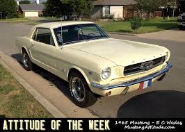 1965 yellow mustang phoenician yellow 1965 ford mustang hardtop mustangattitude com