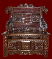 Meuble Normand Ancien Ancien Petit Buffet Normand En Chene Sculpte Bocage Virois