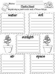 what plants need to grow worksheet free worksheets library