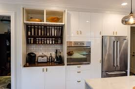 Kitchen Cabinets Refrigerator Surround by Kitchen Cabinet Roller Doors 49 Cute Interior And Kitchen