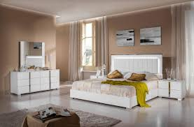 Bedroom Furniture White Gloss Modrest San Marino Modern White Bedroom Set Bellissi Furniture
