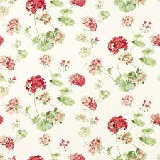 Floral Shabby Chic Wallpaper by Shabby Chic Wallpaper Geranium Cranberry Wallpaper