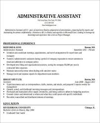 office assistant resumes administrative assistant resume objective for executive portrait