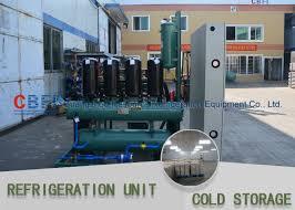 compresseur chambre froide panneau de condensation de refroidissement de l unité 100mm de