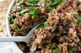 Main Dish Rice Recipes - herbed wild rice u0026 quinoa stuffing kitchen treaty