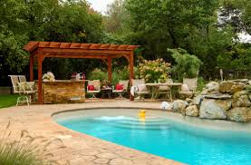 Pool With Pergola by What Is A Pergola Byler Barns