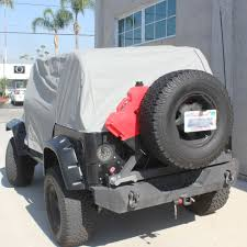 Jeep Wrangler Waterproof Interior 92 95 Jeep Yj Waterproof Cab Cover Gray Tuff Stuff 4x4