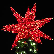large tree toppers lights decoration