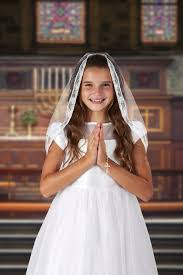 communion veil mantilla style communion veil 6 pk communion