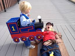 Train Halloween Costume Thomas Train Diaper Box Costume Handcrafting