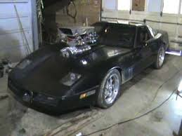 85 corvette engine blown 85 c4 corvette engine rev and idle