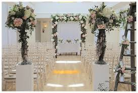 wedding arch log rustic wedding arch at pembroke lodge the flower company