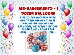 birthday balloons delivered celebrate birthday with birthday balloons