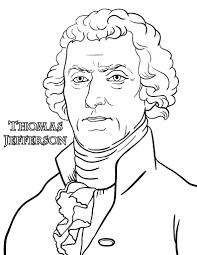free thomas jefferson coloring