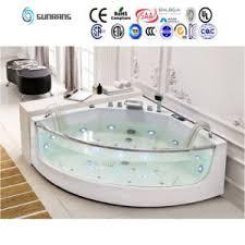 Shallow Bathtub China Mini Freestanding Inflatable Shallow Glass Bathtub Sf5b011