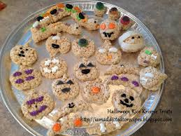 addicted to recipes rice krispies halloween treats