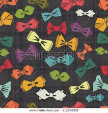 bow tie flat icons collectionhipsters fashionbowtie stock vector