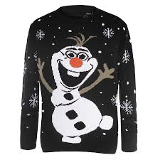 mens womens unisex knitted pom pom santa snowman olaf christmas