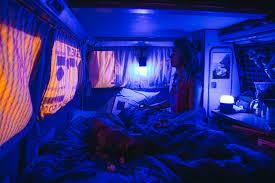 Blue Light Live Vanlife Lighting Where U0027s My Office Now