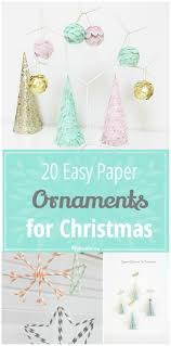 20 easy paper ornaments for tip junkie