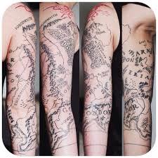 die besten 25 tolkien tattoo ideen auf pinterest elbisches