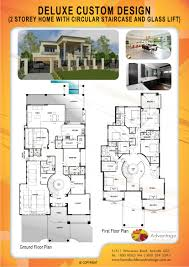 home builders advantage deluxe two storey home with glass lift