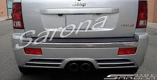 2007 jeep grand grille custom jeep grand 2006 rear bumper sarona