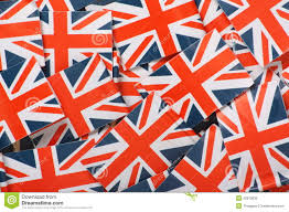 Miniature Flags Union Jack Background Stock Photo Image Of United Toothpick