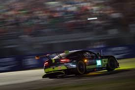 aston martin racing team pole position and le mans lap record for aston martin racing