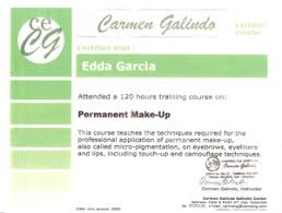 Makeup Schools Miami Edda Garcia Permanent Makeup Certifications
