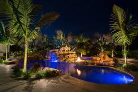 tropical modern caribbean natural lagoon pool lucas lagoons