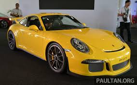 porsche 911 price porsche 911 gt3 launched in malaysia u2013 rm1 23 mil image 263778