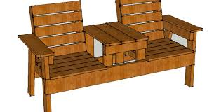 Patio Chair How To Build A Chair Bench With Table Free Plans Bench