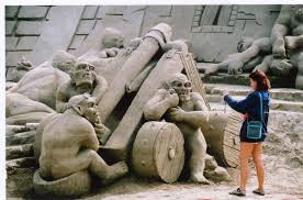 25 amazing sand sculptures extremely weird stuff