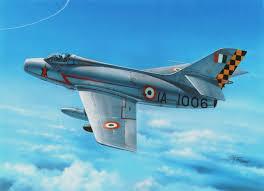 dassault mystère iva india stan hajek modern aircraft art