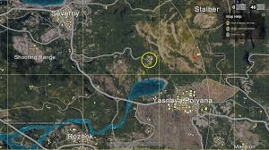 pubg yasnaya can t peek on a certain area of the map gameplay