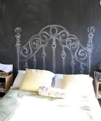 Headboard Wall Decor by Diy Chalkboard Headboard This Would Also Be Pretty Just