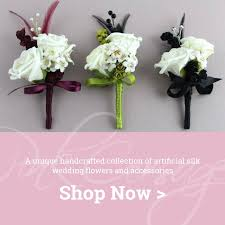 silk corsages silk wedding flowers bouquets corsages hair accessories