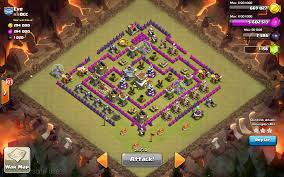 Coc Map Clash Of Clans Hogging In Wars Guide Guidescroll