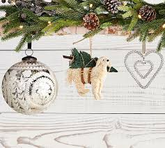 hanging ornament pottery barn