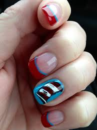dr seuss nail design in honor of his birthday and read across